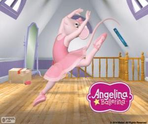 Puzle Angelina Ballerina miluje tanec