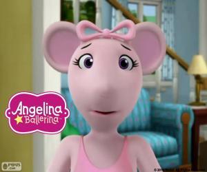 Puzle Angelina Ballerina obličej