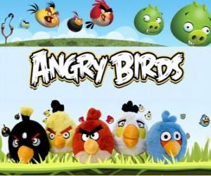 Puzle Angry Birds Rovio. Video her