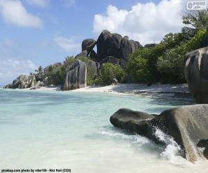 Puzle Anse Source D'Argent, Seychely