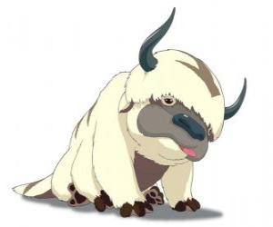 Puzle Appa, Aang létající Bison