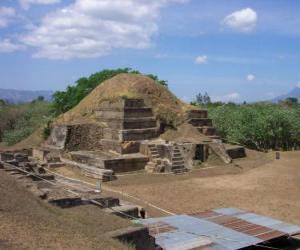 Puzle Archeologického naleziště Joya de Ceren, El Salvador.