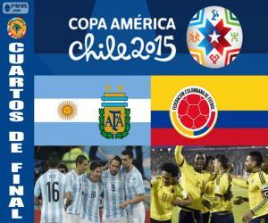 Puzle ARG - COL, Copa America 2015