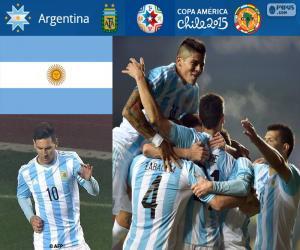 Puzle ARG finalistou, Copa America 2015