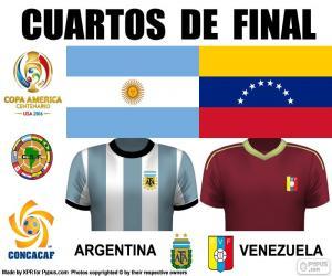Puzle ARG - VEN, Copa America 2016