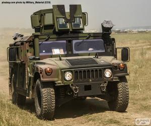 Puzle Armádní Humvee