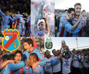 Puzle Arsenal fotbalový klub, Clausura mistr 2012, Argentina