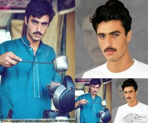 Puzle Arshad Khan, Instagram