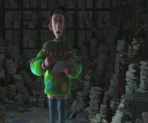 Puzle Arthur Christmas obklopen tisíce dopisů