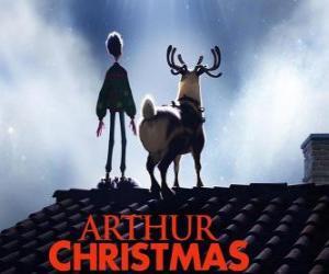 Puzle Arthur Christmas