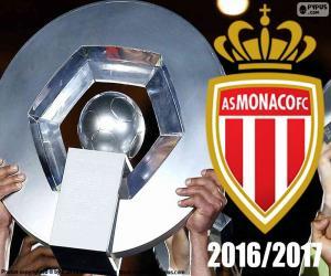 Puzle AS Monako šampión 2016-2017