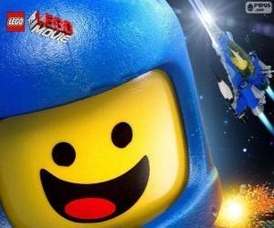 Puzle Astronaut Benny Lego filmu