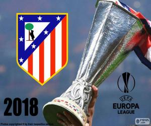 Puzle Atlético Madrid, Europa League 2018
