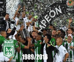 Puzle Atlético Nacional, Copa Libertadores 2016