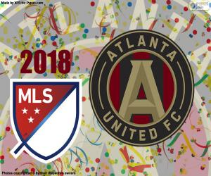 Puzle Atlanta United MSL ve fotbale 2018