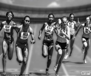Puzle Atletika, štafetový závod