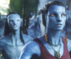 Puzle Avatar na'vi Dr. Grace Augustina