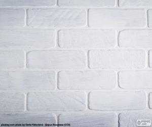Puzle Bílá barva