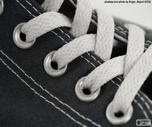 Puzle Bílé tkaničky