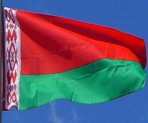 Puzle Běloruská vlajka