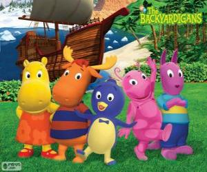 Puzle Backyardigans