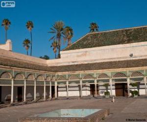 Puzle Bahia Palace, Marrákeš, Maroko