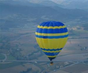Puzle Balónové létání