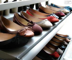 Puzle Baleríny, boty