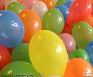 Puzle Balonky pro party