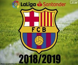 Puzle Barça, mistr 2018 – 2019