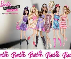 Puzle Barbie FASHIONISTAS