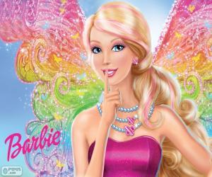 Puzle Barbie víla tajemství