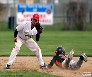 Puzle Baseball dosah základny