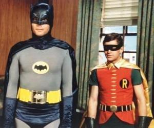 Puzle Batman a Robin
