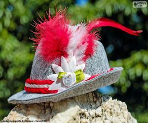 Puzle Bavorský klobouk