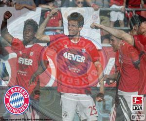 Puzle Bayern Múnich, mistr 2015-2016