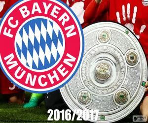 Puzle Bayern Múnich, mistr 2016-2017