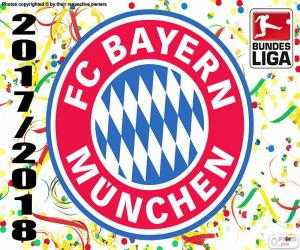 Puzle Bayern Mnichov, Bundesliga 2017-2018