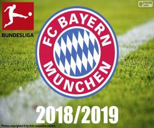 Puzle Bayern Mnichov, mistr 2018 – 2019