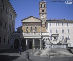 Puzle Bazilika Panny Marie v Trastevere, Řím