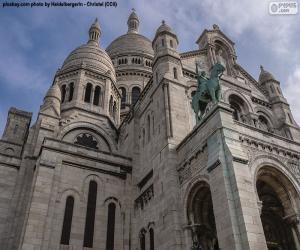 Puzle Bazilika Sacré-Cœur, Paříž