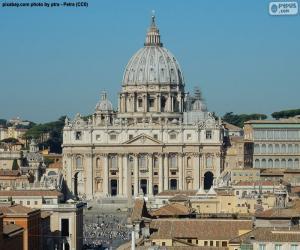 Puzle Bazylika Świętego Piotra, Vatican