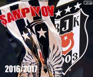 Puzle Beşiktaş, šampion 2016-2017