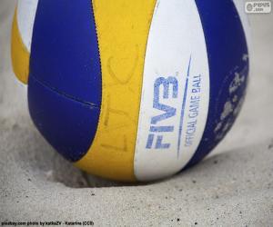 Puzle Beach volejbalový míč