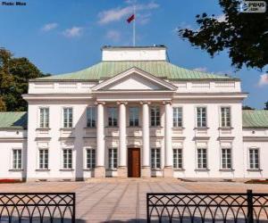 Puzle Belweder Palace, Varšava, Polsko