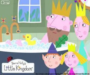 Puzle Ben a Holly s Kings