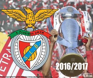 Puzle Benfica, mistr 2016-2017