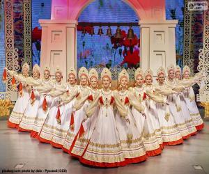 Puzle Beriozka, klasický Ruský tanec