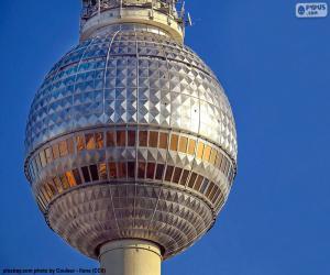 Puzle Berliner Fernsehturm, Německo