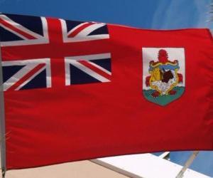 Puzle Bermudská vlajka
